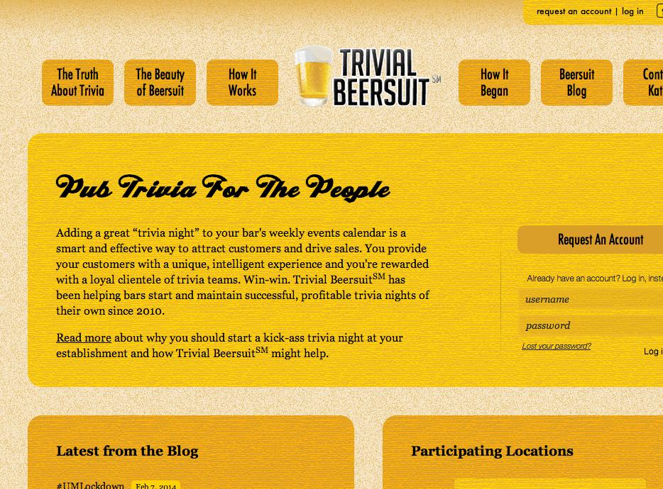 Trivial Beersuit Screen Grab